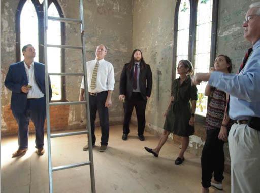 National Fund team visit to Grace United Methodist Church, Dallas